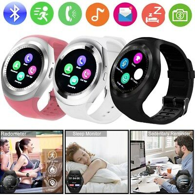 Y1 Waterproof Bluetooth Smart Watch Phone Mate For Android IOS iPhone Samsung LG