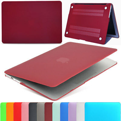 """Hybrid Frosted Hard PC Shockproof Cover Case for Macbook Air 11"""" 13"""" A1466 A1370"""