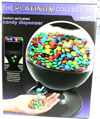 Motion Activated Candy Dispenser Platinum Collection by Shift3 Black Year 2011