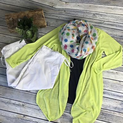 4pcs Womens Outfit Lot Casual, Old Navy Top Small, White Capris Size Small - AG1
