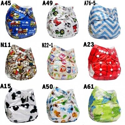 Baby Easeful Adjustable Washable Reusable Cloth Diaper Pocket Nappy Cover Wrap l