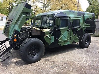 1987 Hummer H1  1987 Hummer H1  Humvee  **Rare**1 of 1 in U.S.A  documented 567 Miles