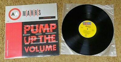 Marrs - Pump Up the Volume LP - BWAY 452 - VG+