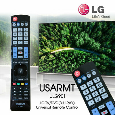 LG TV Remote Control ULG901 Replace for 32LM6410 47LM6200 55LM7600 60LM6700