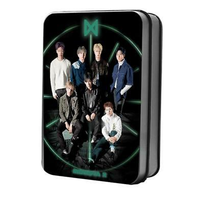 Kpop MONSTA X New Fashion Polaroid Lomo Cards Collective Photocard Poster 40pcs