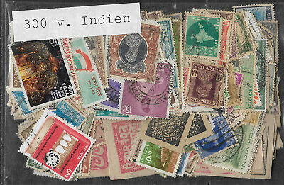 INDIA STAMP COLLECTION  PACKET of 300 DIFFERENT Stamps