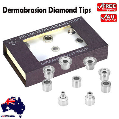 9 TIPS Replacement Wands Tip for Diamond Microdermabras​ion Dermabrasion Machine