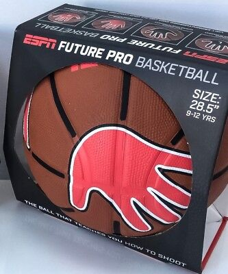 Size 6 Future Pro Coaching Basketball Junior Kids Learn Correct Hand Placement