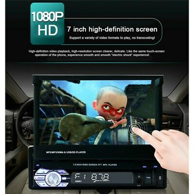 7'' HD GPS Nav Bluetooth Touch Screen Car Stereo Radio Camera MP5/MP3 Player CA