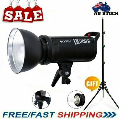 Godox DE300II 300W Photography Studio Lighting Flash Strobe Light Lamp Head 220V