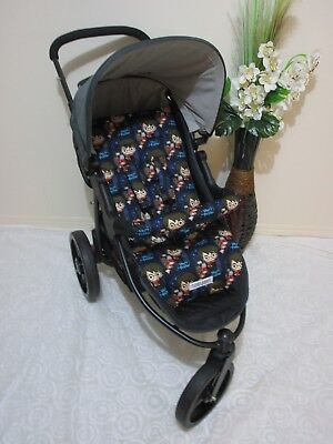 Handmade pram liner set-Harry potter-universal,100% cotton