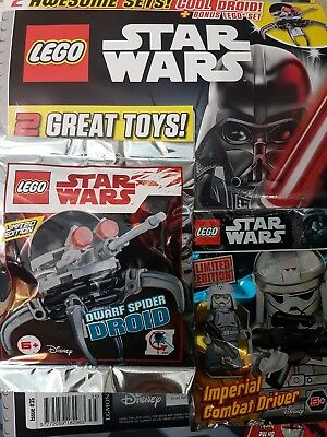 LEGO STAR wars issue 11 oct - 7 Nov 2017 with limited edition gifts ...