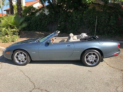 2001 Jaguar XK8 GARAGE KEPT MILD CLIMATE CONVERTIBLE SOUTHERN CALIFORNIA GARAGE KEPT CLASSIC TOPLESS CAT LADY! LOW MILES!