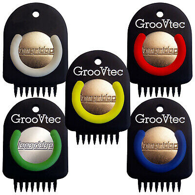 Longridge Groovtec Multi-Pin Groove Cleaner - New Golf Club Face Tool Repairer
