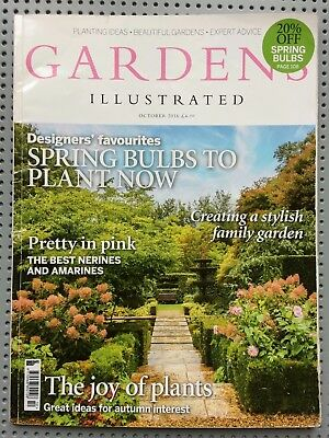 GARDENS ILLUSTRATED magazine - October 2016