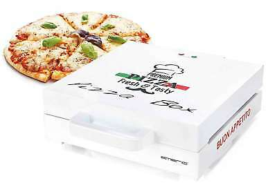 Pizza-Box Emerio PB-115331 Klassisches Pizzakarton-Design Pizza-Maker Mini-Ofen