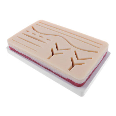 Suture Practice Kits- Human Traumatic Skin Suturing Practice & Training Aid