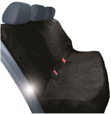 HEAVY DUTY BLACK REAR SEAT COVER for AUDI A4 CONVERTIBLE