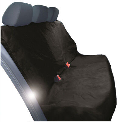 HEAVY DUTY BLACK REAR SEAT COVER for BENTLEY CONTINENTAL GT COUPE 12-ON