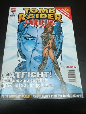Tomb Raider/Witchblade Catfight! Comic - Issue 2 August 1999
