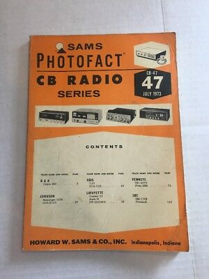 SAMS PHOTOFACT CB Radio Issues  Price is for one issue  See
