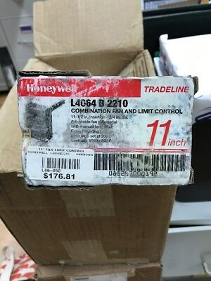 Honeywell l4064b 2210 l4064 fan limit 11 furnace control honeywell l4064 b 2210 11 fan limit control nib publicscrutiny Image collections