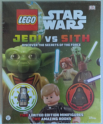 DK Publishing LEGO STAR WARS Jedi Vs Sith 2 Books with 2 Exclusive Mini-Figures