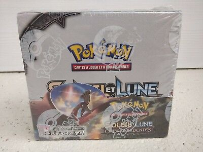 Display Pokemon Soleil Et Lune Sl3 Ombres Ardentes Neuf 36 Boosters