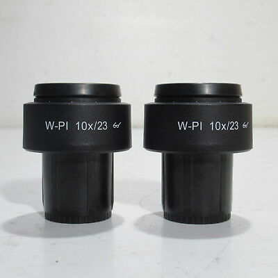 Carl Zeiss W-Pl 10X/23 Focusable Microscope Eyepiece Pair 30Mm - 455043-0000