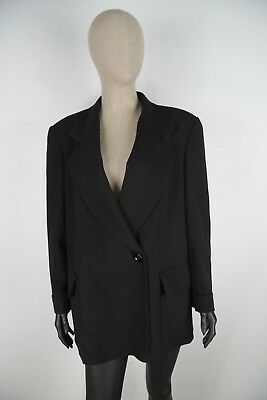GIANFRANCO FERRE LANA WOOL Cappotto Soprabito Giacca Jacket Coat Tg 48 Donna 9c1a4740ccf