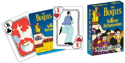 The Beatles Yellow Submarine Movie Photo Playing Cards NEW SEALED