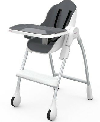 Oribel Cocoon 3-Stage High Chair, Slate, Great Price! Ready to Ship.