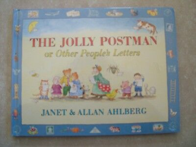 The Jolly Postman Or Other People's Letters.  Janet & Allan Ahlberg.  H/c - New