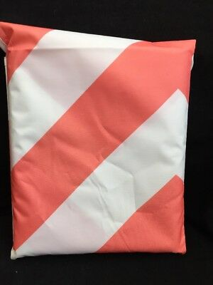 42x42' Chevron Coral Catch All Protective Floor Mat - Prince Lionheart Multiuse