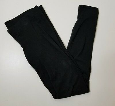 Womens GAP Maternity Black Crop Legging size Small