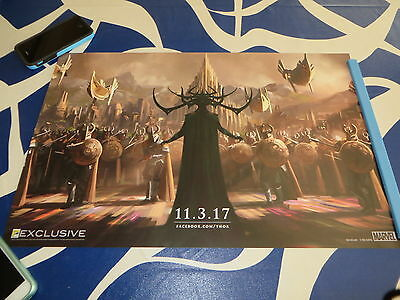 Thor Ragnarok 2016 Comic-Con SDCC exclusive promo Marvel 13x20 mini movie poster