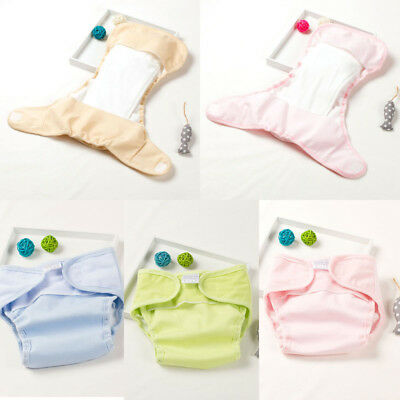 Unisex Adjustable Reusable Washable breathable Cloth Diaper Pocket Nappy Insert