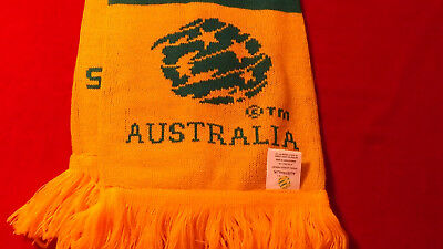 Socceroos Official World Cup Scarf Like New With Package