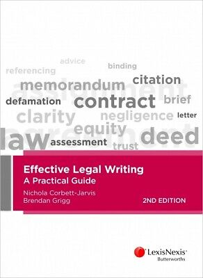 Effective Legal Writing: A Practical Guide, 2nd edition