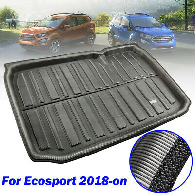 Tailored Cargo Boot Liner Rear Trunk Mat Floor Tray For For Ford EcoSport 2018