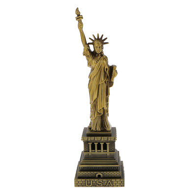 25cm The Statue of Liberty Model Figurine Model Metal Crafts for Home Decor