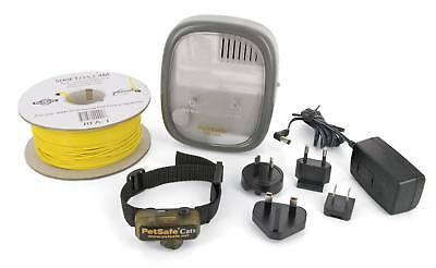 PetSafe Deluxe Underground Electric Invisible Cat Fence PCF-1000-20 With Collar