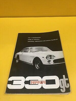 Ferrari 330 GT - Owner's Manual