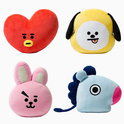 Hot KPOP BTS BT21 SHOOKY RJ Plush Toy COOKY Pillow CHIMMY MANG KOYA TOY GIFT DE