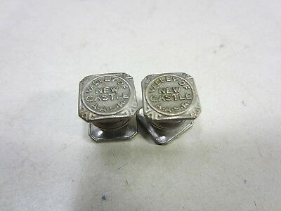 Vintage Pair of Masonic Cufflinks-Valley of New Castle A.A.S.R.