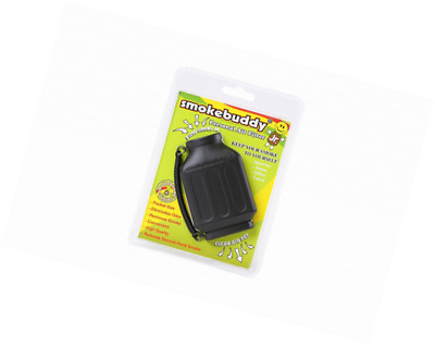 Smoke Buddy Junior Personal Air Purifier Cleaner Filter Removes Odor Black NEW