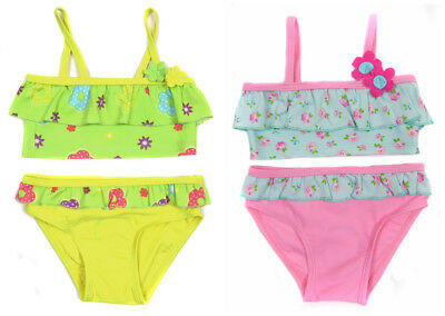 Baby Girls  Bikinis Swim Suit 9-12M 12-18M 18-24M 2-3Y Two Colours
