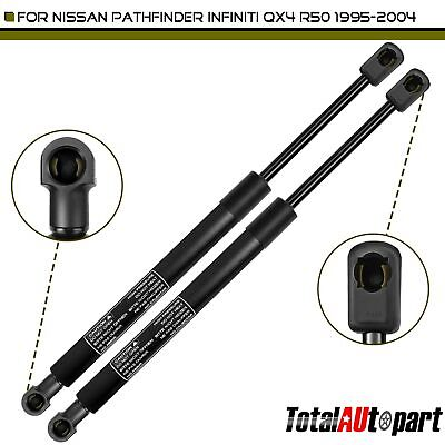 2 Rear Hatch Tailgate Lift Support Shocks for Nissan Pathfinder R50 95-2004 QX4