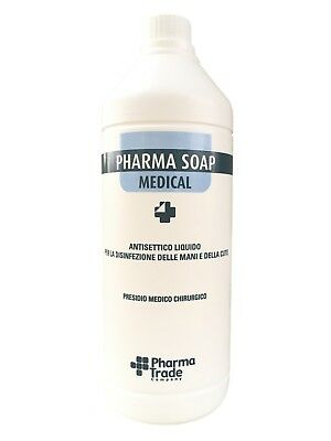 Pharma Soap Medical Disinfectant & Detergent Liquid Antiseptic Hand &Skin 1000ml