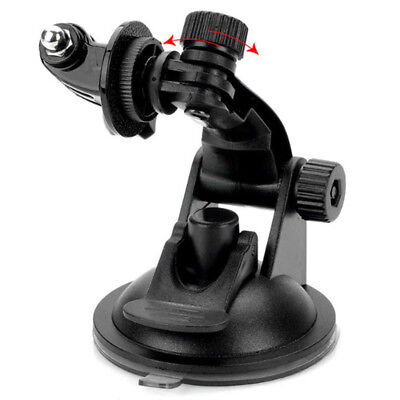Car Windshield Vacuum Suction Cup Mount+Tripod Adapter For GoPro Hero 3+ /3 /2/1